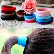 NEW Girl Ponytail Ring Elastic Ties Hair Band Hairband Rope Wholesale 13 Colour