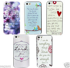 For iPhone 4 4S 5 5S Vintage Christian Jesus Bible Verse Philippians Hard Case