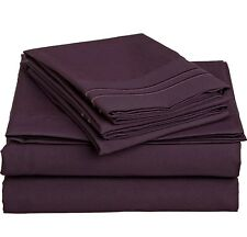 Bed Skirt 1-Piece Voilet 1000Thread Count Select Desired Size & Pocket