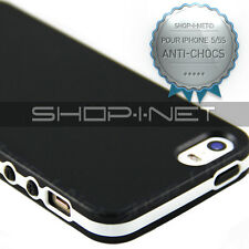 HOUSSE COQUE  ETUI ★GEL SILICONE★ ANTI-CHOCS★FINITION MATE★ POUR IPHONE  5 5S★