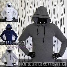 NEW MEN'S HOODIE SHIRTS for MEN CASUAL WEAR MENS LONG SLEEVE TOP hooded shirt