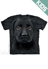 THE MOUNTAIN BLACK LAB PUPPY DOG PET CUTE ANIMAL  YOUTH KIDS TEE T SHIRT S-XL