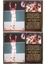 Tug McGraw Philadelphia Phillies 1980 World Series Champions Photo Plaque
