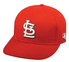 MLB ST. LOUIS CARDINALS Baseball CAP Red HAT Home VELCRO Strap YOUTH ADULT