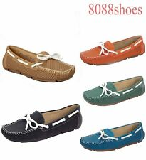Women's 5 Color  Causal Classic Slip On Flat Boat  Sandal Shoes Size 6 - 11 NEW