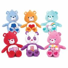 """NEW OFFICIAL 12"""" G/Q CARE BEAR COLLECTIONS PLUSH SOFT TOYS"""