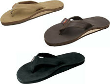 RAINBOW SANDALS WOMENS PREMIER LEATHER SIERRA BROWN OR BLACK S M L XL L10