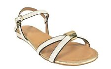 Norcia! City Classified Open Toe Strappy Heel Sandal White Patent Leatherette