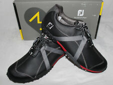 FootJoy M Project Spiked Mens Golf Shoes - Black Charcoal - Style # 55132