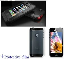 Water/Shock/Dust Gorilla proof Case Cover Skin for  iPhone 4/4s+Protective film