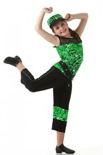 BREAKTHROUGH Pants Top & Belt Hip Hop Halloween Dance Costume Child/Adult