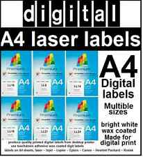 Epson Digital laser labels  paper labels made for digital output perfect print