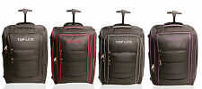 Top Lite Wheeled Lightweight Cabin Suitcase Hand Luggage Flight Travel Bag