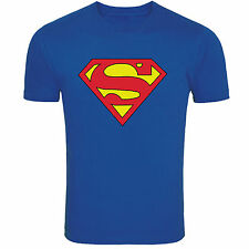 Guys Round Neck Superman T-shirt, Mens Superman Tee - Free Shipping and COD