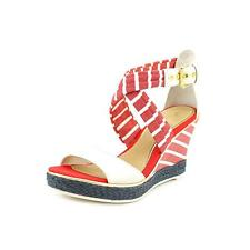 Sperry Top Sider Aurora Womens Open Toe Leather Wedge Sandals Shoes