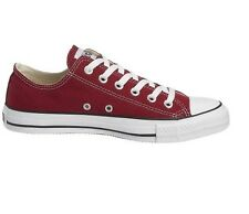 Converse All Star Ox Maroon Canvas Unisex Adults