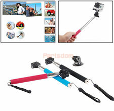 Self-shot Protrait Monopod +Tripod Bracket For Gopro Hero4 3+ 2 Camera Accessory