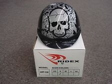 RIDEX MOTORCYCLE HELMET D.O.T. APPROVED