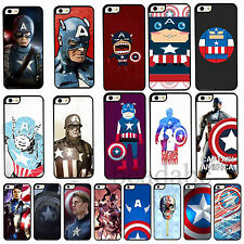 New Captain America Painted Phone Hard Back Skin Case Cover for iPhone 4 4S 5 5C