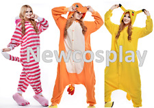 Cosplay Costume Kigurumi Animal Unisex Pajamas Sleepwear Hoodies Halloween Felpe