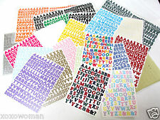 Creative Memories Mini ABC 123 Letters & Numbers Sassy & Classy  You choose!