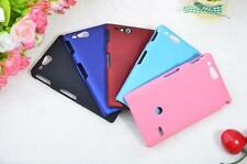 Hard Plastic Back Protector Case Matte Cover Skin Guard For Sony Xperia Go ST27i