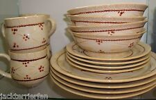 Temp-tations Old World 16-piece Dinnerware Ceramic Service for 4 H13604 colors