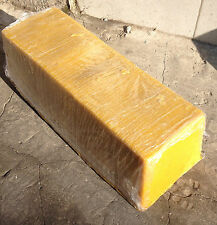 Greek Bees Wax Natural Honey Brown Coloured Melted in Blocks about 9 kg