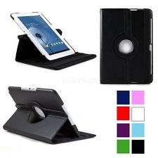 360 Rotating PU Leather Case Cover For Samsung Galaxy Note 10.1 TabletN8000/8010