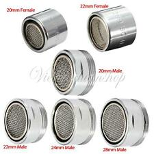 Tap Aerator Water Saving Male Female Chrome Filter Spout End Diffuser Filter New