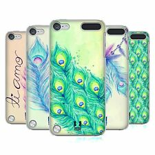 HEAD CASE DESIGNS PEACOCK FEATHERS CASE COVER FOR APPLE iPOD TOUCH 5G 5TH GEN