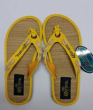 BIOWORLD CORONA EXTRA SHELLS BEER MEXICO SANDALS FLIP FLOPS WOMEN US SIZE 5-7