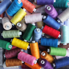 Moon Sewing Thread 120s Polyester - Many Colours - 1000 yards - price per spool