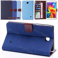 "Fashion Stand Card Holder Leather Case Cover For Samsung Galaxy Tab 7"" T230 7-in"