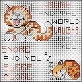 Cross Stitch Kits 'Mixed Humour'  9 designs to choose from