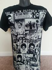 BLACK PANTHER PARTY, HUEY P. NEWTON, BOBBY SEALE, ANGELA, FRED HAMPTON T-SHIRT