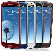 N Samsung Galaxy S III SGH-I747 - 16GB - Blue / White / Red UNLOCKED (A)