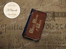 Once Upon A Time Inspired Wallet Case for Samsung Galaxy S3 / S4 / S5 / Note 3