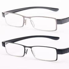Mens Quality Reading Glasses New Designer Black Gun Metal +1 +1.50+2.0+2.5+3 R29