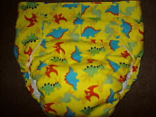 Dependeco All In One cloth adult baby diaper S/M/L/XL  ( happy dino)