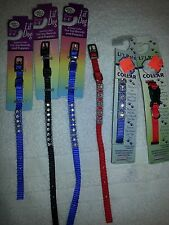 Lil' Pals, Lil' Dog harness or collars (pick style and color) new ON SALE