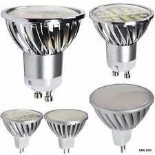 LED Spot Light Bulb Lamp 10pcs 5W 400LM MR16 GU10 DC12V AC100-240V