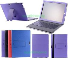 "For Microsoft Surface PRO3 12"" Tablet Folio Stand Keyboard PU Leather Case Cover"