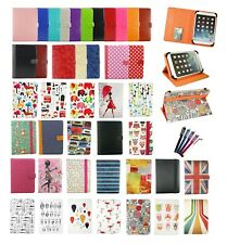 """Universal Multi Angle Wallet Case Cover with card slot for 7"""" - 8"""" inch Tablet"""