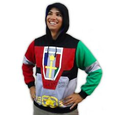 Voltron Costume Licensed Pullover Hoodie S-XXL
