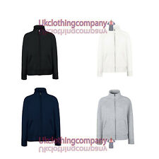 Fruit Of The Loom Lady-Fit Sweat Jacket - Womens lady-fit tops - sizes xs to xxl