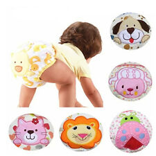 Infant Baby Boy Girl Toddler Animal Pee Potty Training Pants Cloth Diapers Hot