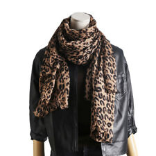 New Hot Celebrity Fashion Leopard Panther Animal Print Pashmina Scarf Shawl Wrap