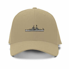 U S S BALTIMORE MILITARY Embroidery Embroidered Adjustable Hat Baseball Cap