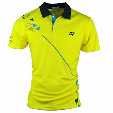 Yonex Men's Yellow Lee Chong Wei Limited Edition T Shirt With Your Name